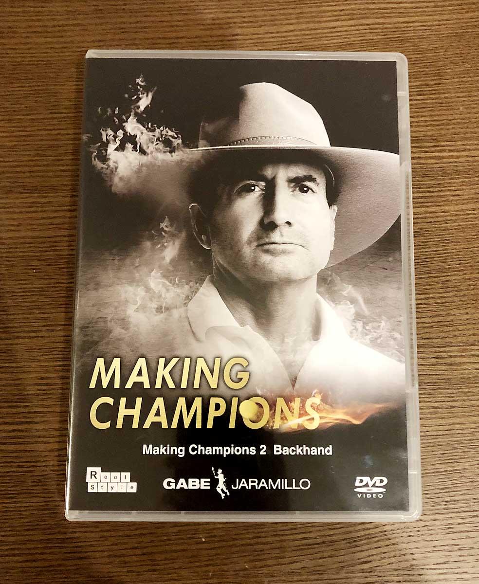 「Making Champions 2 バックハンド」のパッケージ