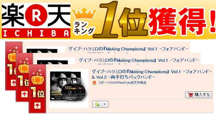ゲイブ・ハラミロ『Making Champions』